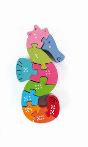 Puzzle Seepferdchen - El Puente