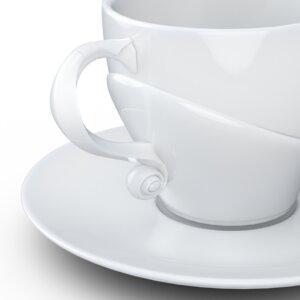 Talent Tasse mit Henkel und Unterteller Shakespeare - FIFTYEIGHT PRODUCTS