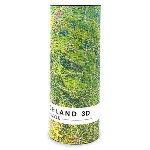 Deutschlandkarte in 3D, Puzzle 1000 Teilen, Deutschland Puzzle - Extragoods