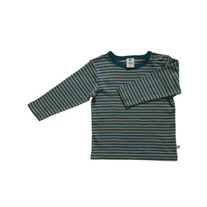 Leela Cotton Baby und Kinder Langarm Ringel-Shirt - Leela Cotton