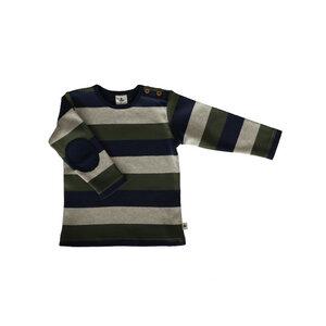 Leela Cotton Baby und Kinder Langarm Ringel-Shirt - Leela Cotton