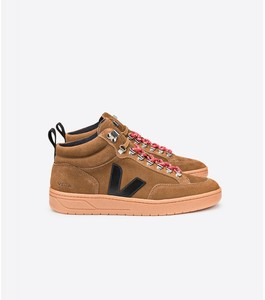 Sneaker Damen - Roraima Suede - Brown Black Natural Sole - Veja