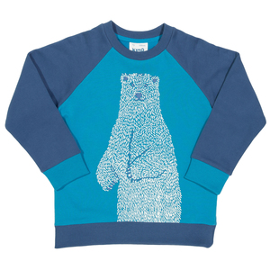 Kite Kinder Sweat-Shirt Polar-Bär  - Kite Clothing