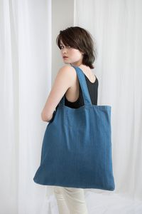 Denim Shopper Jeans 50 x 46 cm Maxi oder 40 x 40 - Mantis