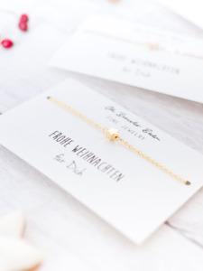 Armband Stern in den Farben Gold, Silber oder Roségold inkl. Karte - Oh Bracelet Berlin