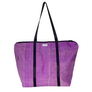Große Reisetasche / Sporttasche aus Kitesegeln 79 Liter UNIKAT - Beachbreak