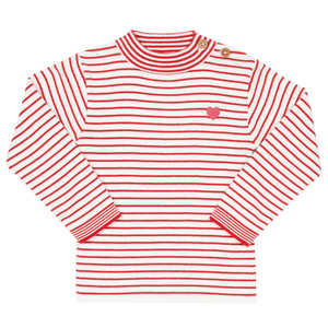 Kite Mädchen Pullover Stripy Heart - Kite Clothing