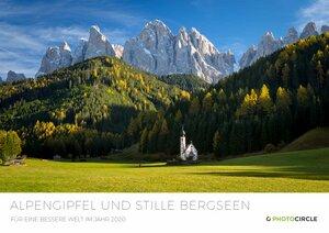 Fotokalender 2020 - Alpengipfel und Stille Bergseen - Photocircle