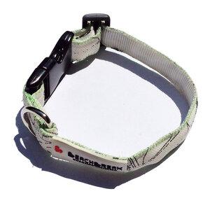 Verstellbares Hundehalsband hergestellt aus Kites > 38 cm UNIKAT - Beachbreak