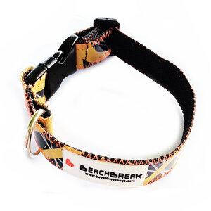 Verstellbares Hundehalsband hergestellt aus Segeln > 40 cm UNIKAT - Beachbreak