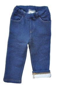 Hose Leela Cotton blau uni  in Jeans Optik  - Leela Cotton