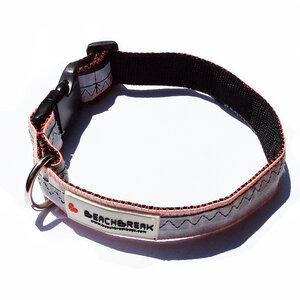 Verstellbares Hundehalsband hergestellt aus Kites > 47 cm UNIKAT - Beachbreak