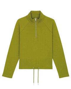 Sweatshirt Damen mit Zip-Reißverschluß und hohem Kragen,Sweatshirt - YTWOO