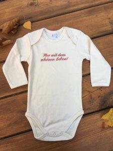 """Baby Body """"Her mit dem schönen Leben"""", langarm - kolt."""
