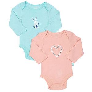 Kite Baby 2er-Pack Langarm-Body Heart - Kite Clothing