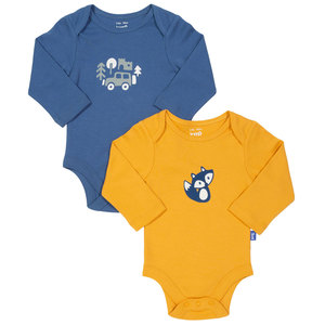 Kite Baby 2er-Pack Langarm-Body Foxy - Kite Clothing