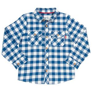 Kite Kinder Langarm Hemd Karo - Kite Clothing