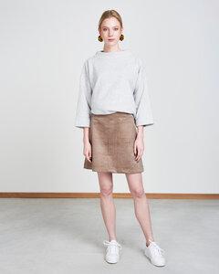 Pullover GANYMED light grey melange - JAN N JUNE