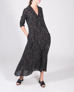 Kleid IVYY schwarz stardust print - JAN N JUNE