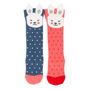 Kite Baby und Kinder Kniestrümpfe Bunny 2er-Pack - Kite Clothing