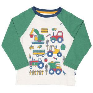 Kite Baby und Kinder Langarm-Shirt Bauernhof - Kite Clothing