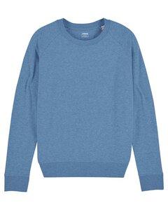 Sweatshirt Basic meliert für Frauen, Sweater, Pullover, Bio-Baumwolle - YTWOO