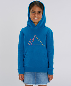 Hoodie mit Motiv / FADED MOUNTAIN - Kultgut