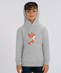 Hoodie mit Motiv / Fuchs und Maus - Kultgut