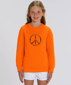 Sweatshirt mit Motiv / FADED PEACE - Kultgut