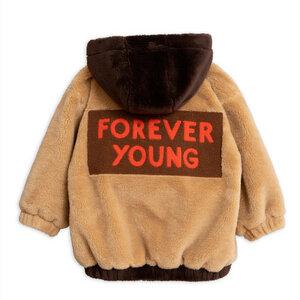 Kuschelige Teddyjacke für Jungen und Mädchen. Forever Young - Mini Rodini