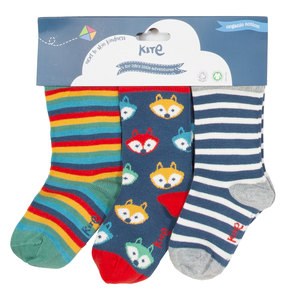 Kite Baby und Kinder Socken 3er-Pac - Kite Clothing