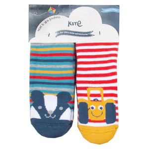 Kite Baby und Kinder Anti-Rutsch-Socken 2er-Pack  - Kite Clothing