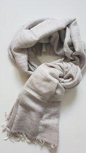 Kaschmir-/Seidenschal von Hand gewebt - BAGHI