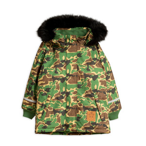 "Warmer, wasserdichter K2 Outdoor Funktions-Parka ""Camo"" - Mini Rodini"