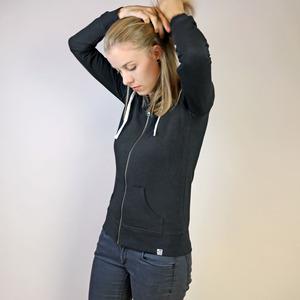 Damen Zipjacke mit Kapuze - Gary Mash