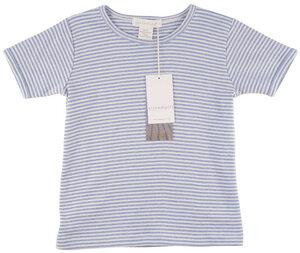 Basic T-Shirt geringelt aus 100% Bio-Baumwolle. - Serendipity