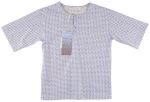 Leichte Jersey T-Shirt mit Druckknopfleisten und Oversize-Schnitt - Serendipity