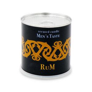 Duftkerze für Männer aus 100 % Soyawachs Rum Aroma - Extragoods