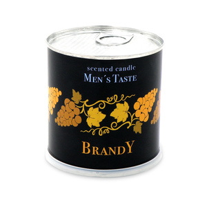 Duftkerze für Männer aus 100 % Soyawachs Brandy Aroma - Extragoods