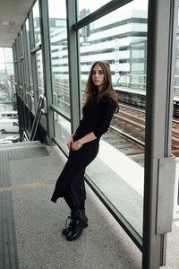 Long Dress black - recolution
