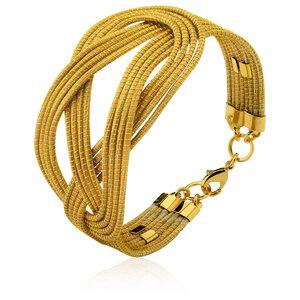 Armband Leonie Bio aus Golden Grass - Aline Celi