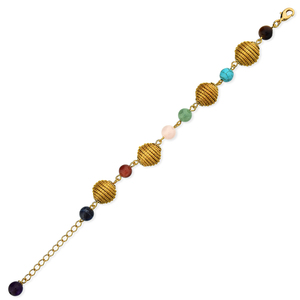 Armband Petra Bio aus Golden Grass - Aline Celi