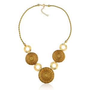 Halskette Angela Bio aus Golden Grass - Aline Celi