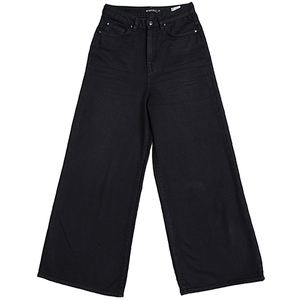 Wide Cropped BARLERIA overdyed black - Lovjoi