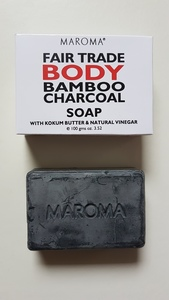 Maroma Körperseife Bamboo Charcoal 100g - MAROMA