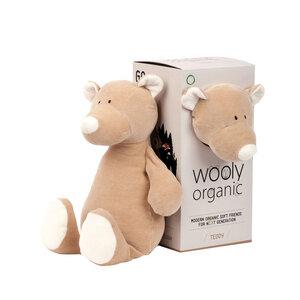 """Großes Kuscheltier """"Teddy"""" - aus Bio-Baumwolle - Wooly Organic"""