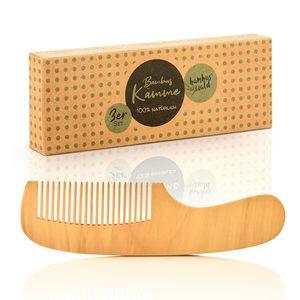 Naturkamm für optimale Haarpflege - Bambuswald