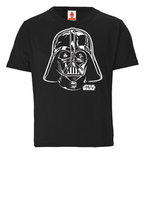 LOGOSHIRT - Star Wars - Darth Vader Portrait - Kinder Bio T-Shirt  - LOGOSH!RT