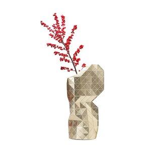 Paper Vase Cover Faltvase Papier - Pepe Heykoop & Tiny Miracles - Gold - Pepe Heykoop