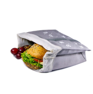 Snack-Tüüt - Mehrwegbeutel mit Frische-Inlay für Snacks - umtüten
